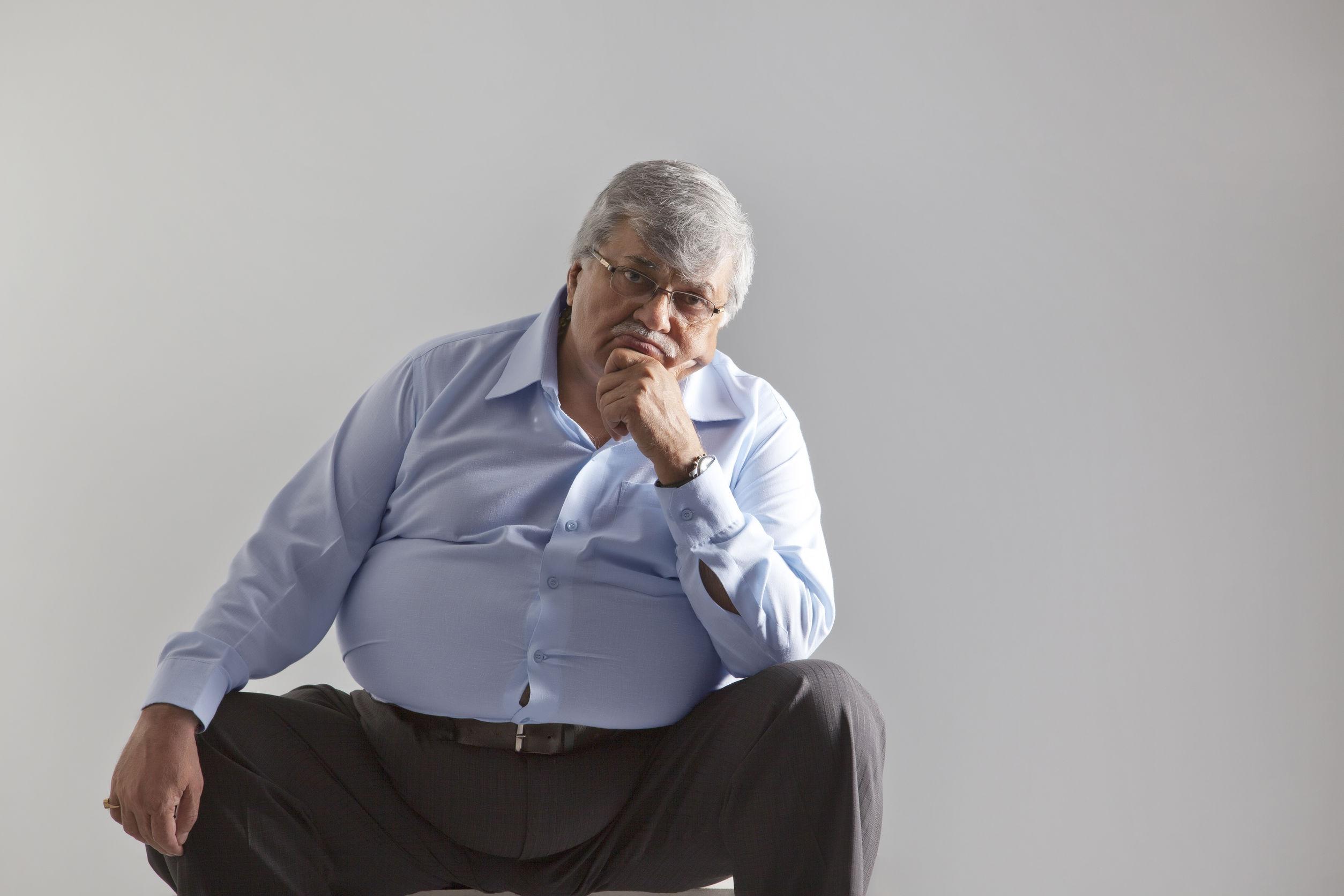 5 riscos da obesidade na terceira idade
